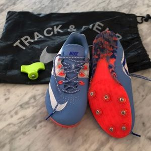 Nike Rival racing sprint track cleats